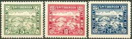 Noorwegen-Spitsbergen 1905 Serie Lokaalpost PF-MNH-NEUF - Local Post Stamps