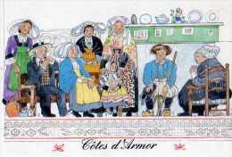 Monique TOUVAY Costumes Des Provinces Bretagne  Cotes D'Armor,St Brieuc,Plerin,Pleneuf,Moncontour,Conteur Du Finistere - Adolf 'Jodolfi'