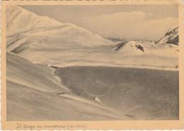 5207.   Funivia Oropa - Il Lago Mucrone In Inverno - 1939 - Other Cities