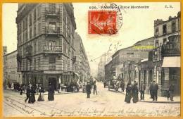 7518/179 Paris Montmartre Rue Montcalm, Ecrite **** - Arrondissement: 18