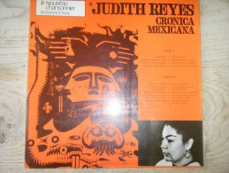 Judith Reyes - Cronica Mexicana - Discos De Vinilo
