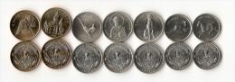 Nagorno Karabakh Set Of 7 Coins UNC