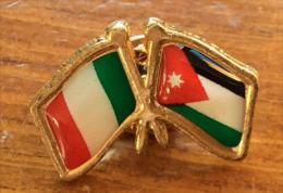 Jordan-Italia Special Day EXPO MILANO 2015, Pin Sold At The EXPO MILANO 2015 (ITALY) - Pin's & Anstecknadeln
