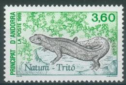 Andorra (French Adm.), Newt, Amphibian, 1989, MNH VF - Unused Stamps
