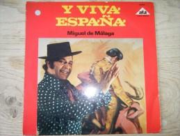 Miguel De Malaga - Y Viva España - Discos De Vinilo