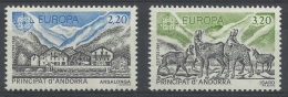Andorra (French Adm.), EUROPA 1986, Nature Conservation, 1986, MNH VF - Unused Stamps