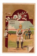 Chromo Imp. Bataille, Chocolat Devinck,  Impereur D' Allemagne - Cromos