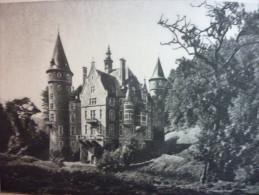 Belgique , Chatea De Marche Les Dames , 1927 - Documents Historiques