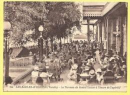 CPA 85 LES SABLES D OLONNE La Terrasse Grand Casino TOP - Sables D'Olonne