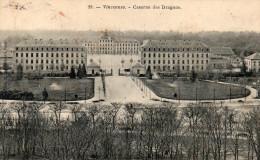 CPA VINCENNES - CASERNE DES DRAGONS - Vincennes