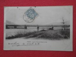01 Frankreich France Culoz Pont Du Chemin De Fer 1904 - Ohne Zuordnung