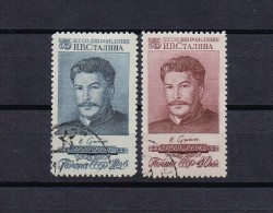 STAMP USSR RUSSIA Used (o) 1954 Set STALIN - Used Stamps