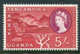 Kenya, Uganda & Tanganyika 1960-62 Definitives - 5/- Crater Lake HM - Kenya, Uganda & Tanganyika