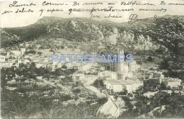 32925 SPAIN ESPAÑA VALLDEMOSA MALLORCA VIEW PANORAMIC AERIAL POSTAL POSTCARD - Non Classificati