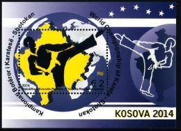 REPUBLIC OF KOSOVO 2014 World Championship Of Karate, Shotokan - Block** - Kosovo