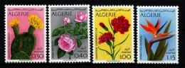 Algerien 1973 MiNr. 606/ 609  ** / Mnh  Freimarken: Blumen - Pflanzen Und Botanik