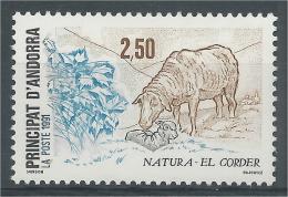 Andorra (French Adm.), Sheep (Ovis Aries), 1991, MNH VF - French Andorra