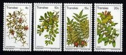 Transkei 1978 MiNr. 41/ 44  ** / Mnh  Eßbare Wildfrüchte - Pflanzen Und Botanik