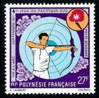POLYNESIE 1971 - Yv. PA 53 **   Cote= 17,00 EUR - Tir à L'arc ..Réf.POL23069 - Poste Aérienne