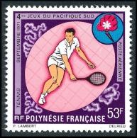 POLYNESIE 1971 - Yv. PA 54 **   Cote= 27,00 EUR - Tennis ..Réf.POL23070 - Poste Aérienne