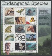 !a! USA Sc# 3105 MNH SHEET(15/b) - Endangered Species - Hojas Completas