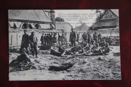 Grande Guerre 1914-16, Offensive Franco Anglaise De La Somme, Groupe De Prisonniers Allemands . - Guerra 1914-18