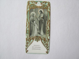 Image Pieuse Religieuse Souvenir De La Première Communion Simone Fauvet - Devotion Images