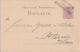 DR Ganzsache Bpst. L3 Northeim - Nordhausen - Deutschland