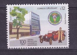 DRIVING SCHOOL CAR OLDIES ANCIENT VEHICLE URUGUAY Sc#2283 MNH - Uruguay