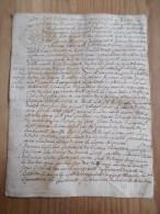 CACHET GENERALITE BORDEAUX 1745  Acte DORDOGNE 1746 Près Le Bugue Village De Campagne - Algemene Zegels