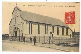 ASNIERES      Chapelle St Joseph  Avec Enfants. - Asnières-sur-Oise
