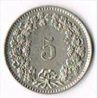 Switzerland 1958B 5c - Suiza