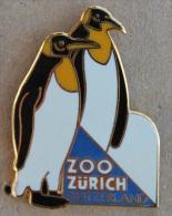 ZOO DE ZURICH SCHWEIZ - SUISSE - SWITZERLANDPINGOUINS - MANCHOTS -    (BRUN) - Animals