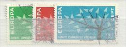 1962 USED CEPT Turkey - Europa-CEPT
