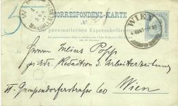 Postal Stationery - Wien - Austria (tem Dobra Na Vertical) - Stamped Stationery