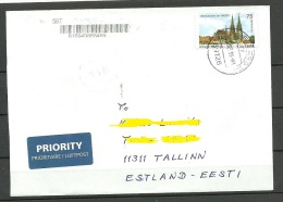 DEUTSCHLAND 2011 Brief Nach Estland - BRD