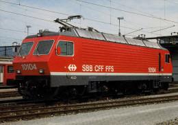 Carte Postale Locomotrice Suisse Geneve - Berne - Locomotieven