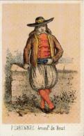 Carte Postale :Homme De Plabennec (Finistère) - France