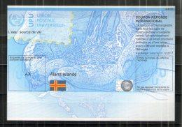 2865 IRC IAS CRI - International Reply Coupon - Antwortschein T37 Aland Islands Alandinseln AX20130521AA - Aland
