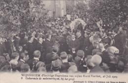 """Wijneghem Wijnegem Begrafenis Karel Verbist 8 """"Gedurende De Redevoeringen Bij Het Graf"""" Funeral Cyclist Cyclisme Cycling - Wijnegem"""