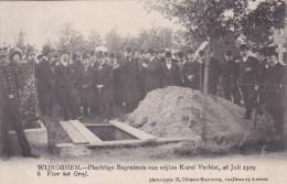"Wijneghem Wijnegem Begrafenis Karel Verbist 6 ""Voor Het Graf"" Funeral Cyclist Cyclisme Cycling - Wijnegem"