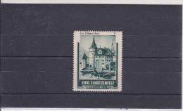 Reklamemarke Eidg. Schützenfest - Luzern 1939 - Zur Gilgen-Haus (361) - Erinnophilie