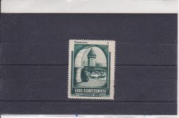 Reklamemarke Eidg. Schützenfest - Luzern 1939 - Wasserturm (363) - Erinnophilie