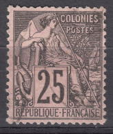 France Colonies General Issues 1881 Yvert#54 Used - Alphée Dubois