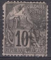 Colonies General Issues 1881 Yvert#50 Used - Alphée Dubois