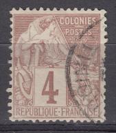 Colonies General Issues 1881 Yvert#48 Used