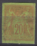 France Colonies General Issues 1878 Yvert#42 Used