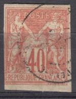Colonies General Issues 1877 Yvert#27 Used