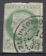 Colonies General Issues 1872 Yvert#17 Used