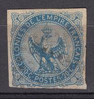 Colonies General Issues 1859 Yvert#4 Used